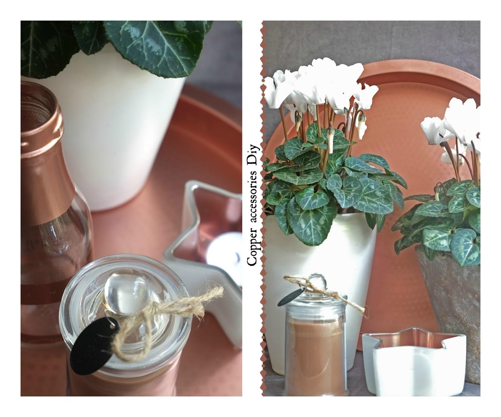 Koper accessoires zelf maken met glazenwerk- Diy