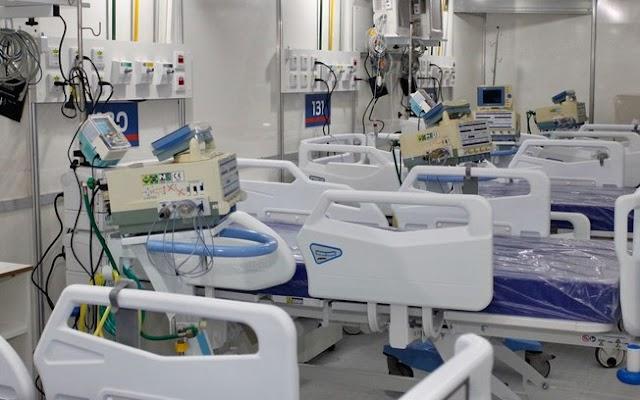 Taxa de ocupação de leitos de UTI para Covid na rede SUS do Rio mantém-se em 92%