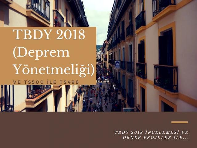 TBDY 2018 (Deprem Yönetmeliği) - TS500 - TS498