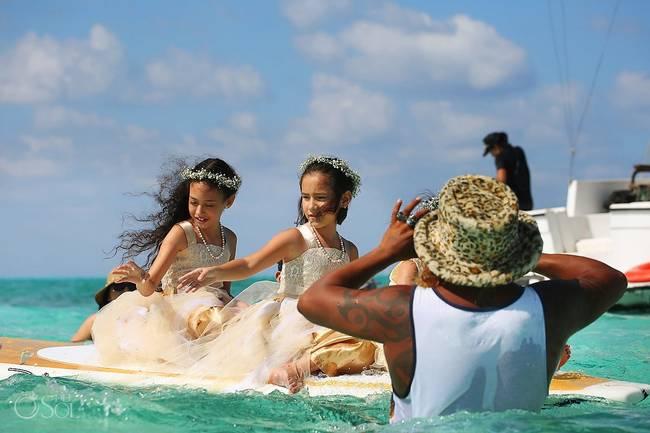 incrivel casamento realizado no mar no caribe 15 - Um casamento no meio do mar. Diferente de tudo que você já viu.