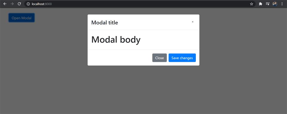 Cara membuat Modal di Vue.js - Laravel