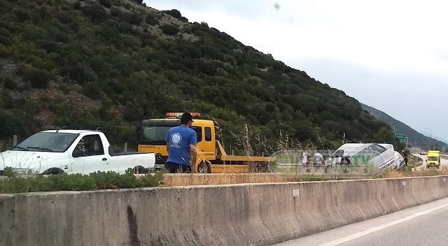 Θεσπρωτία: Εγνατία Οδός - Τροχαίο Ατύχημα Κοντά Στην Έξοδο Παραμυθιάς [Φωτό]