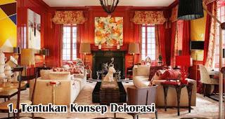 Tentukan Konsep Dekorasi merupakan salah satu tips mudah buat dekorasi imlek di rumah