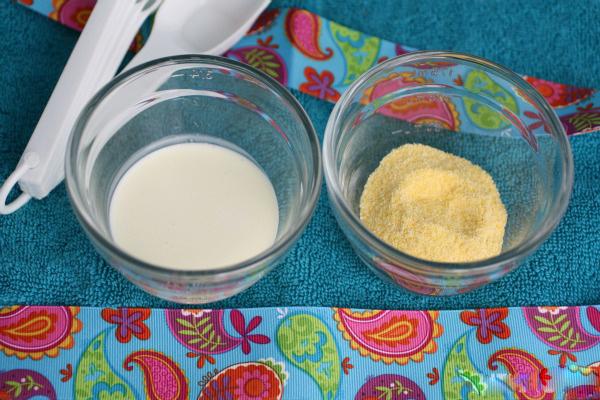 Tẩy tế bào chết nhanh chóng với bột ngô và sữa chua