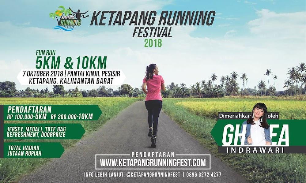 Ketapang Running Festival • 2018