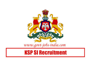 KSP SI Recruitment 2020