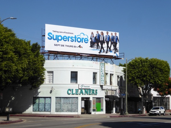 Superstore season 3 billboard