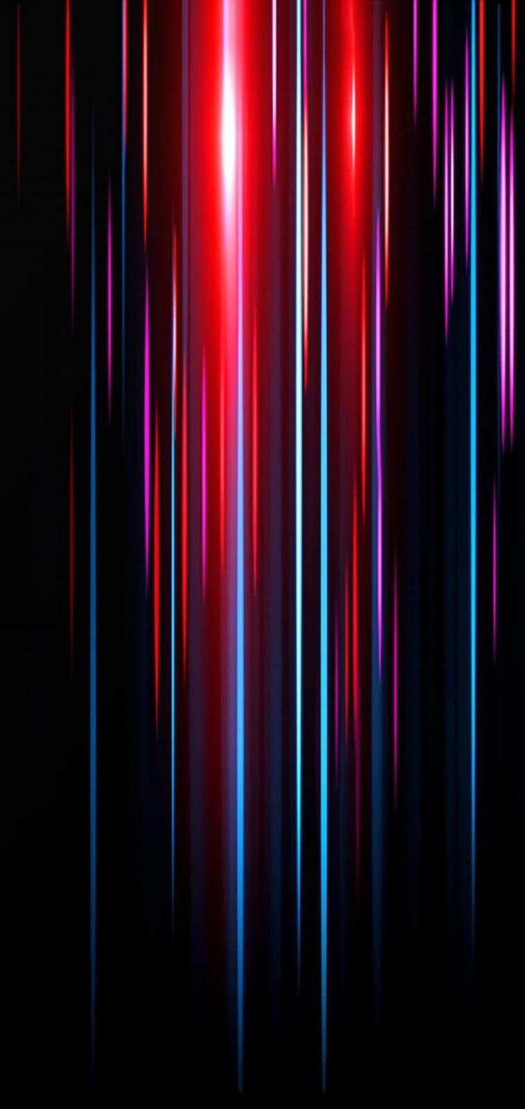 strisce neon verticali