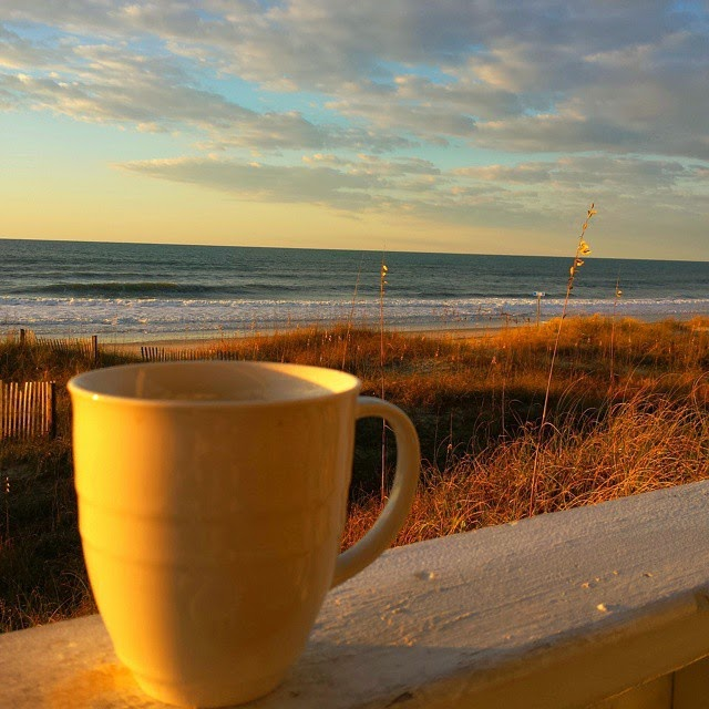 #outaboutnc Photo by Leigh Powell Hines, A North Carolina Morning on the coast. Tag your N.C. photos featured.