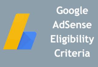 blogspot adsense eligibility