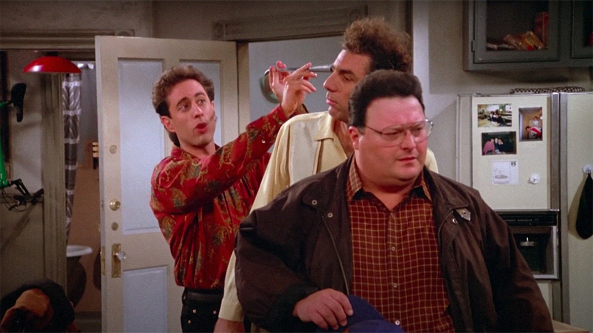 Vídeo de Seinfeld celebra as inúmeras referências cinematográficas da série