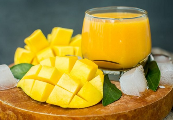 Method of action of natural mango juice