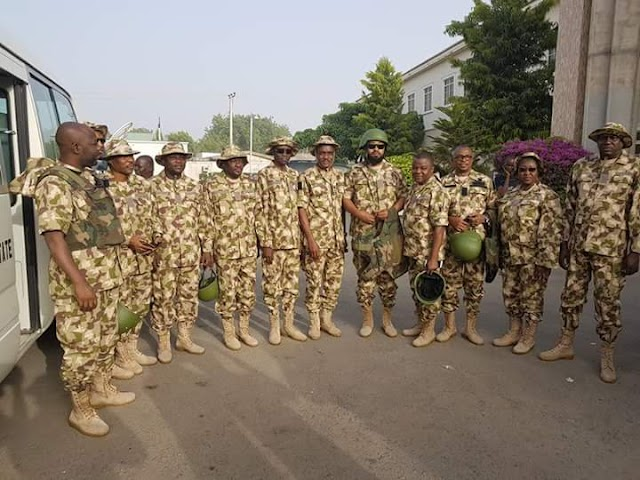 Chief Of Army Staff Leads Federal Government Delegates To Sambisa Forest. (SEE PHOTOS)