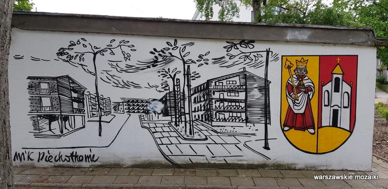 Warszawa Warsaw warszawskie murale streetart street  Piechotkowie Stare Bielany