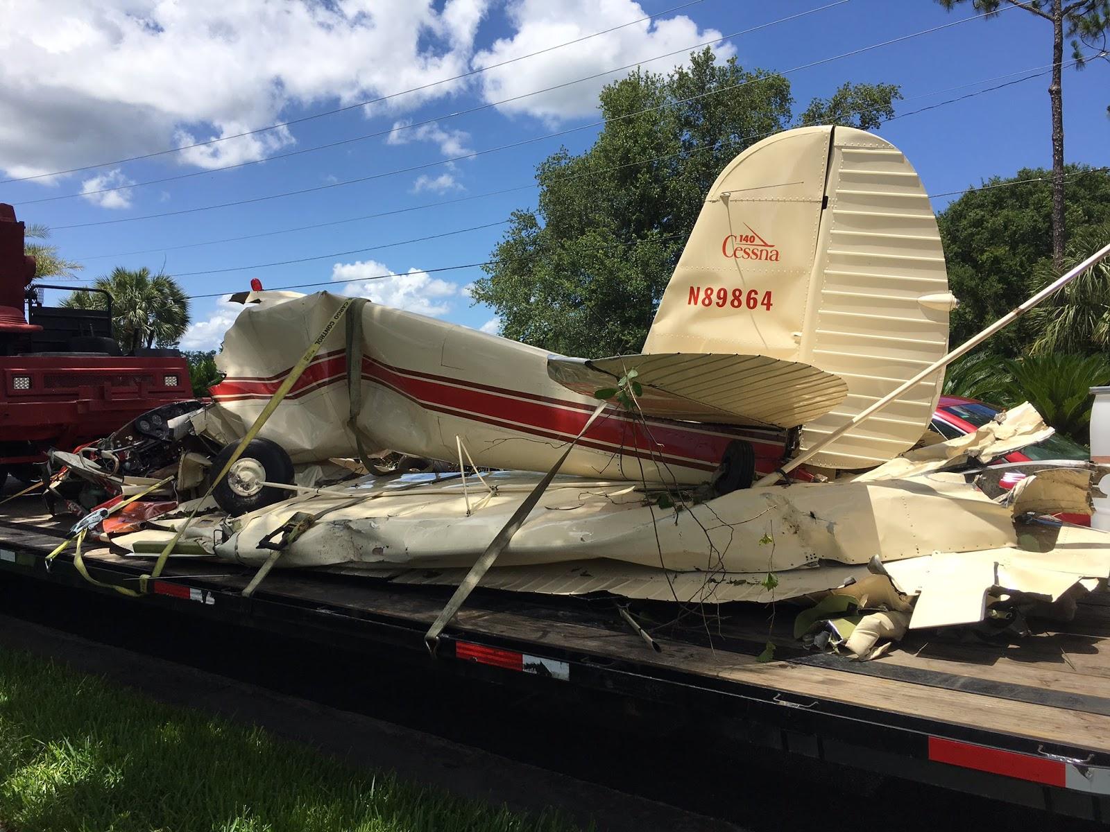 Kathryn's Report: Fuel Starvation: Cessna 140, N89864, fatal