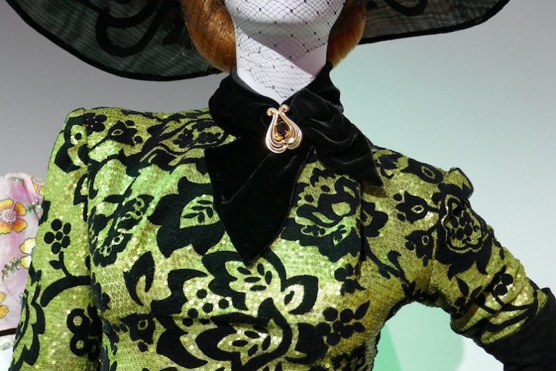Lady Tremaine Cinderella costume detail