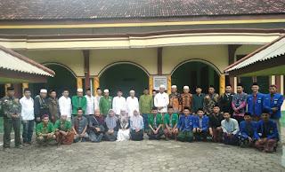 PMII Turut Sambut Rombongan PWNU Jawa Timur