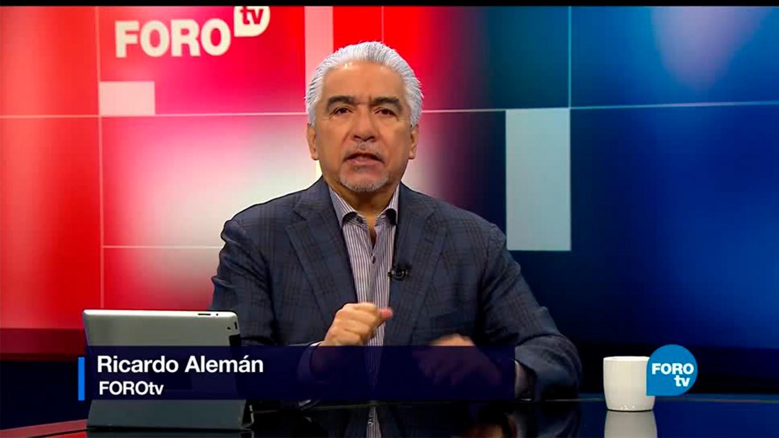 Televisa y Canal 11 despiden a Ricardo Alemán por amenazas contra AMLO y Ricardo culpa a MORENA