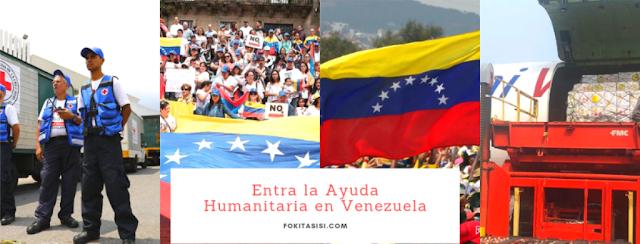 (Imagen) Dile No a la Politización de la Ayuda Humanitaria Venezuela