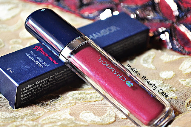 Chambor Extreme Wear Transfer Proof Liquid Lipstick Packaging