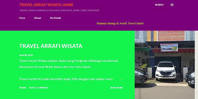 Travel Murah Kota Jambi