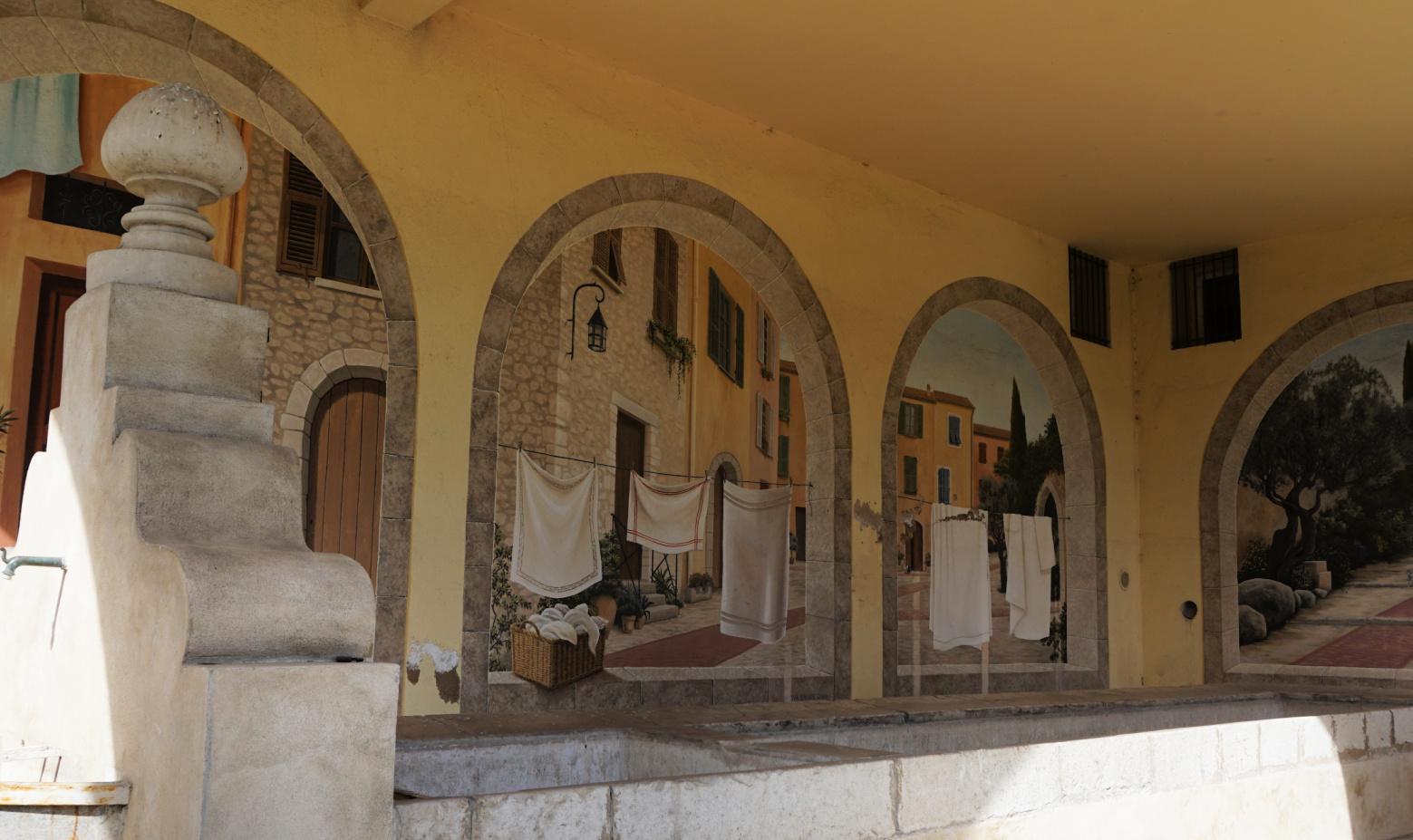 Old washing place La Turbie