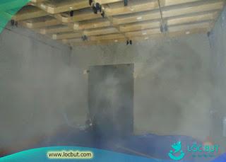 Nhà yến trong những ngày nắng nóng không nên tăng phun sương.