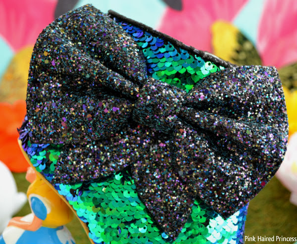 irregular choice alice who in the world am i? glitter bow