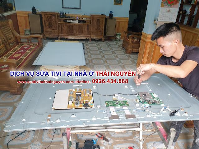 Địa chỉ Sửa tivi tại nhà ở Thái Nguyên Thợ giỏi