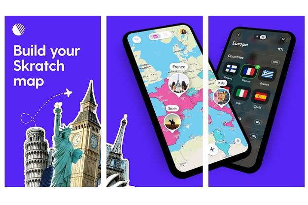 "Scratch - Ένας ψηφιακός χάρτης που ""ξύνεις"" χώρες που έχεις επισκεφθεί"