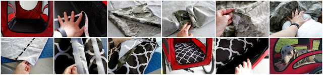 Step-by-step making a custom waterproof cushion for dog stroller