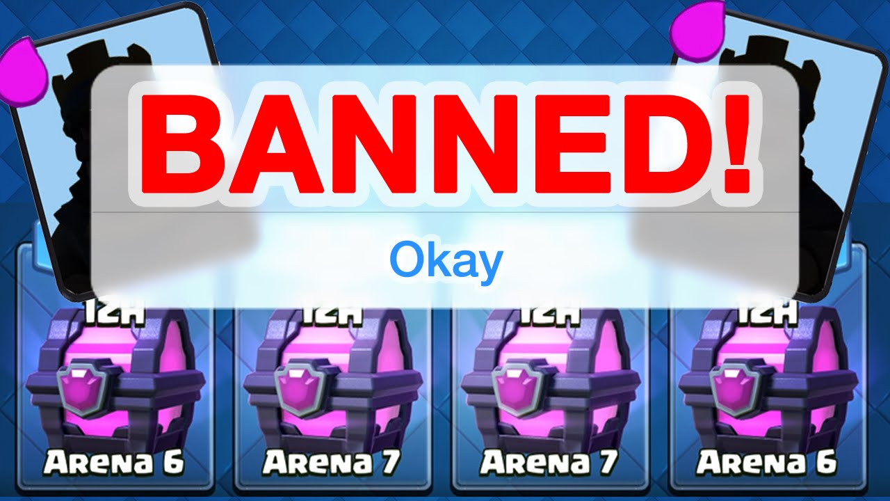 """Banned!"""" from Clash Royale How to Ban ? - Clash Royale for Mac"""