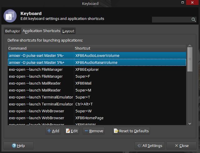 How To Make Shortcuts To Change Volume On Xubuntu!