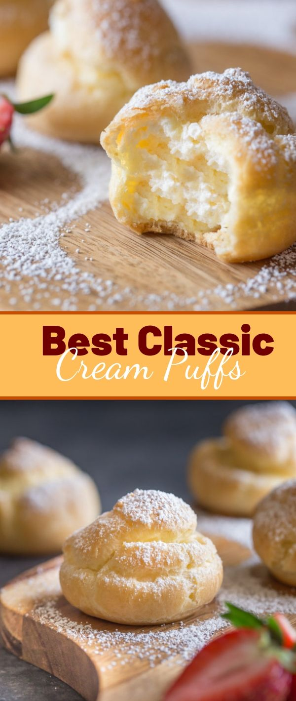 Best Classic Cream Puffs #Best #Classic #Cream #Puffs Cake Recipes From Scratch, Cake Recipes Easy, Cake Recipes Pound, Cake Recipes Funfetti,