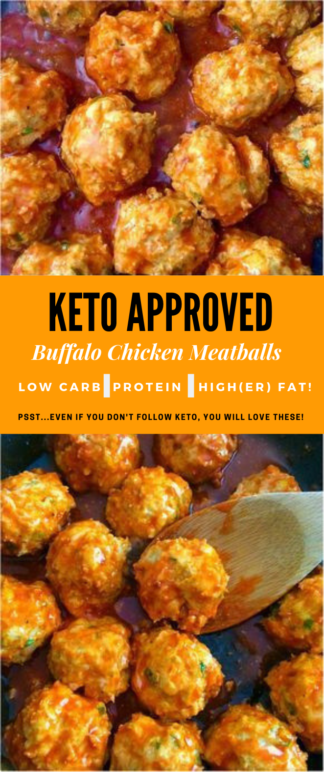 BUFFALO CHICKEN MEATBALLS- KETO APPROVED #keto #meatballs