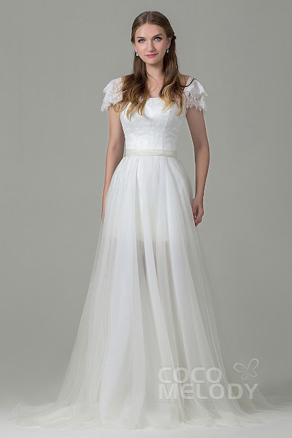 Wedding Dresses With Removable Sleeves 16