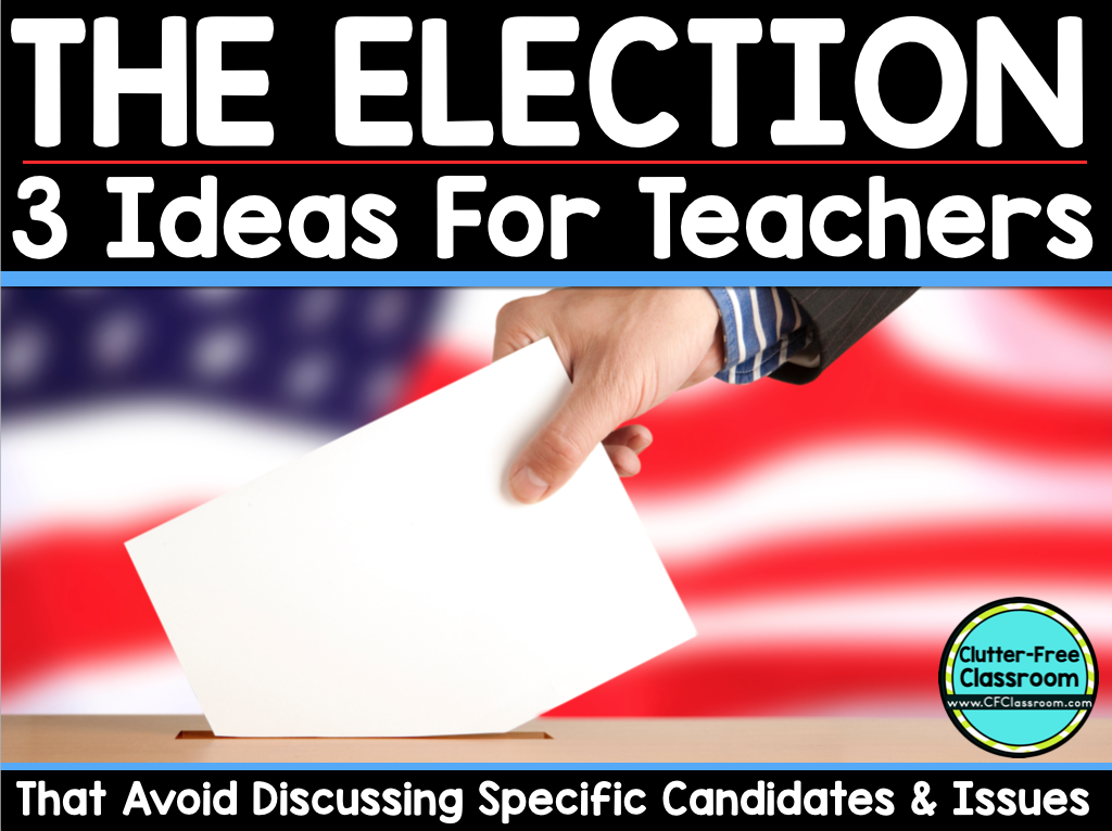 Classroom Election Ideas ~ Election day activities for kids that don t discuss