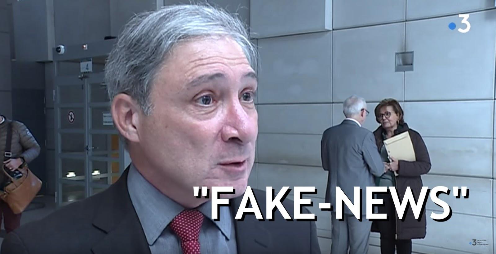 """La presse est manipulée"" affirme le procureur de Nice"