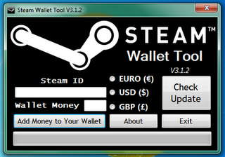 Free steam wallet codes generator (unlimited voucher codes).