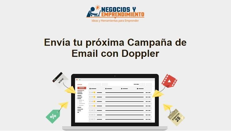 35% de Descuento en Planes de Email Marketing con Doppler
