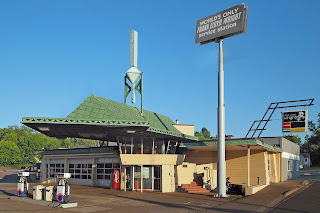 Frank Lloyd Wright Service Station, Cloquet, Minnesota