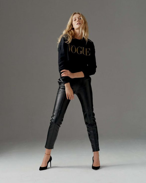 Toni Garrn  Clicked For Vogue Collection Winter 2020