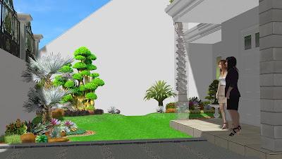 Tanaman taman rumah mewah depan rumah jasataman co id