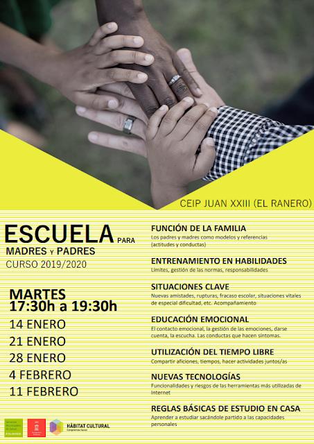 Escuela para madres y padres - Curso 2019/20