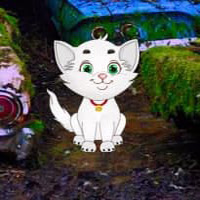 Play WowEscape-White Cat Car F…