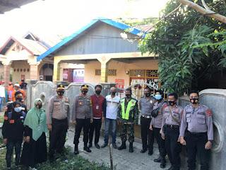 Kapolres Pangkep Pantau 2 titik Lokasi Kampanye