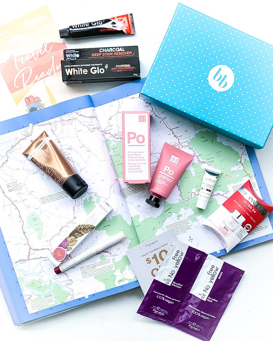 June 2019 Travel Ready Treasures Bellabox Review
