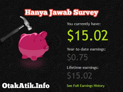 Cara Mendapatkan $15 dari Jawab Survey di PaidViewPoint