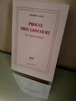 """Critique de """"Proust, prix Goncourt - Une émeute littéraire"""" de Thierry Laget"""