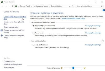Cara Mengaktifkan Opsi Hibernate di Windows 10,8,7